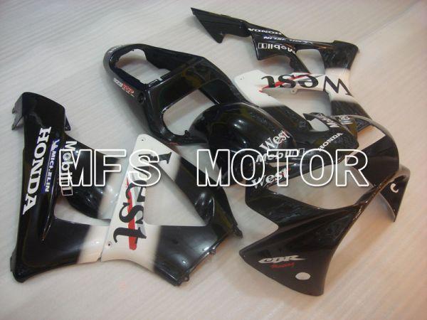 Honda CBR900RR 929 2000-2001 Injection ABS Fairing - West - Black White - MFS3213