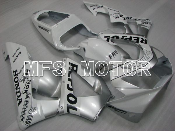 Honda CBR900RR 929 2000-2001 Injection ABS Fairing - Repsol - White Silver - MFS3217