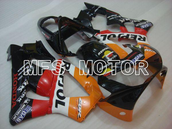 Honda CBR900RR 929 2000-2001 Injection ABS Fairing - Repsol - Black Orange Red - MFS3220