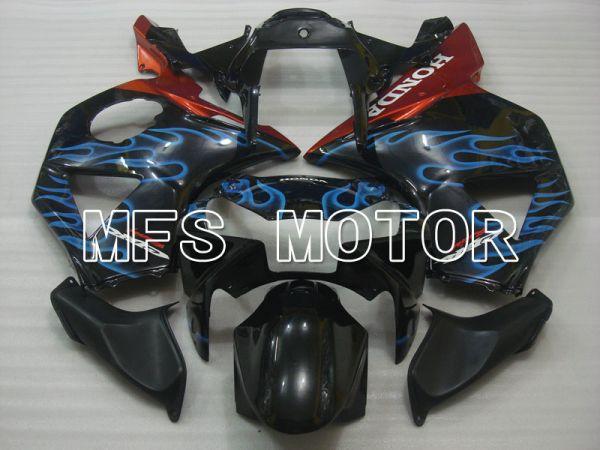 Honda CBR900RR 954 2002-2003 Injection ABS Fairing - Flame - Black Blue - MFS3227