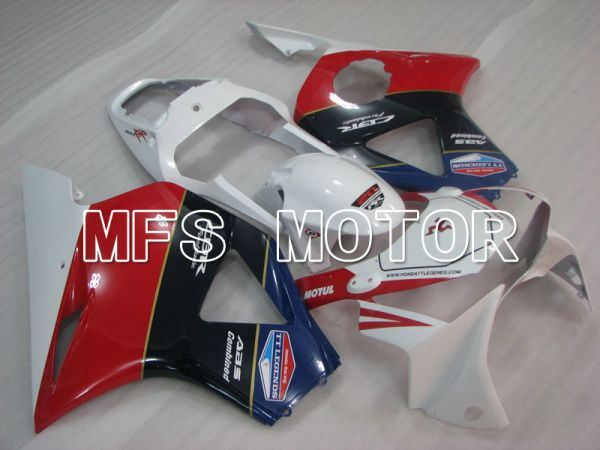 Honda CBR900RR 954 2002-2003 Injection ABS Fairing - Factory Style - Blue Red White - MFS3237