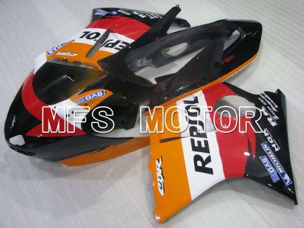 Honda CBR1100XX 1996-2007 Injection ABS Fairing - Repsol - Black Orange Red - MFS3243