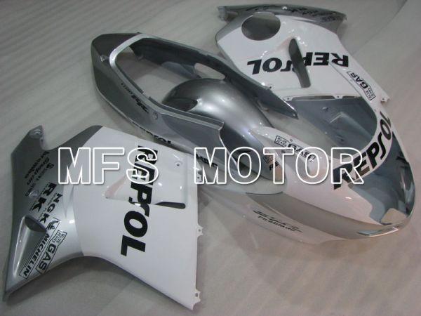 Honda CBR1100XX 1996-2007 Injection ABS Fairing - Repsol - White Silver - MFS3259