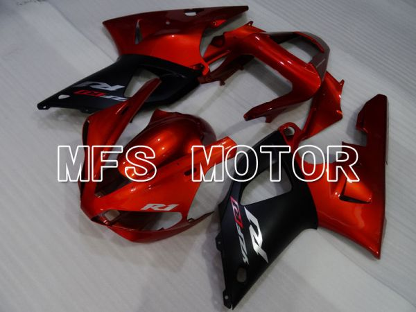 Yamaha YZF-R1 2000-2001 Injection ABS Fairing - Factory Style - Black Red - MFS3265