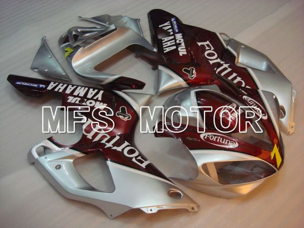 Yamaha YZF-R1 2000-2001 Injection ABS Fairing - Fortuna - Red Silver - MFS3268
