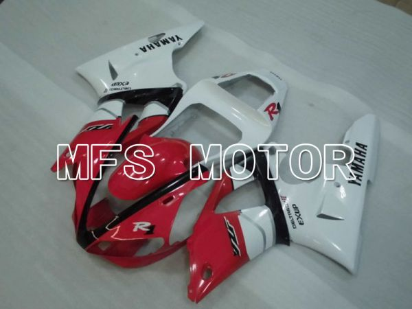 Yamaha YZF-R1 2000-2001 Injection ABS Fairing - Factory Style - Red White - MFS3274