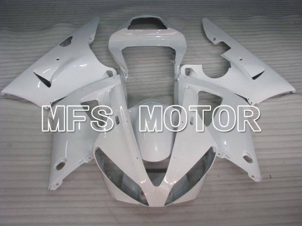 Yamaha YZF-R1 2000-2001 Injection ABS Fairing - Factory Style - White - MFS3276