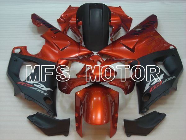 Yamaha YZF-R1 2000-2001 Injection ABS Fairing - Factory Style - Black Orange - MFS3279