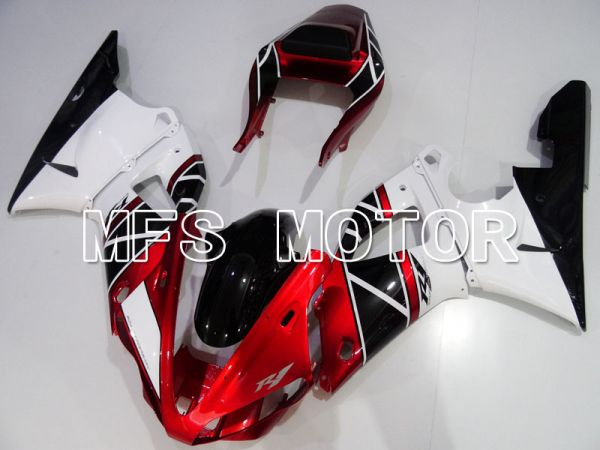 Yamaha YZF-R1 2000-2001 Injection ABS Fairing - Factory Style - Black Red White - MFS3282