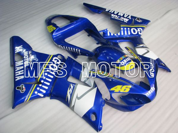 Yamaha YZF-R1 2000-2001 Injection ABS Fairing - GO!!!!!!! - Blue - MFS3284