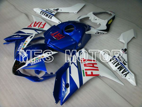 Yamaha YZF-R1 2007-2008 Injection ABS Fairing - FIAT - Blue White - MFS3437
