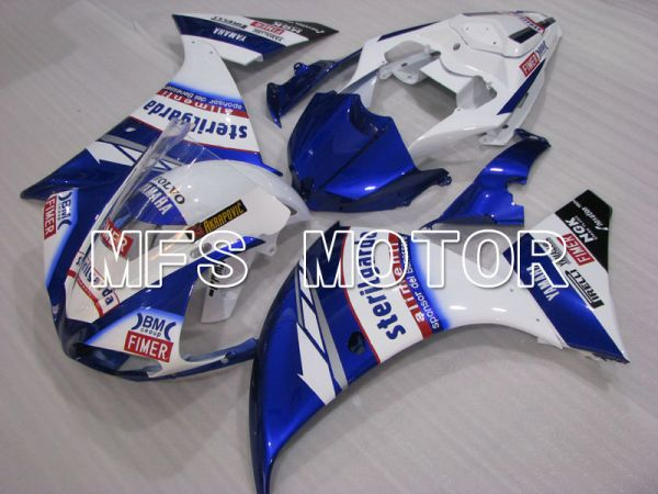 Yamaha YZF-R1 2007-2008 Injection ABS Fairing - Sterilgarda - Blue White - MFS3438