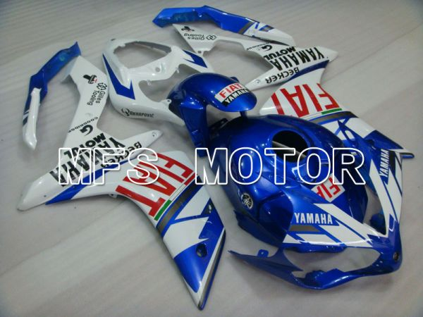 Yamaha YZF-R1 2007-2008 Injection ABS Fairing - FIAT - Blue White - MFS3440