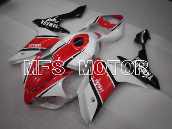 Yamaha YZF-R1 2007-2008 Injection ABS Fairing - Factory Style - White Red - MFS3446