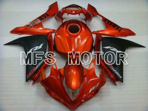 Yamaha YZF-R1 2007-2008 Injection ABS Fairing - Factory Style - Black Orange - MFS3451