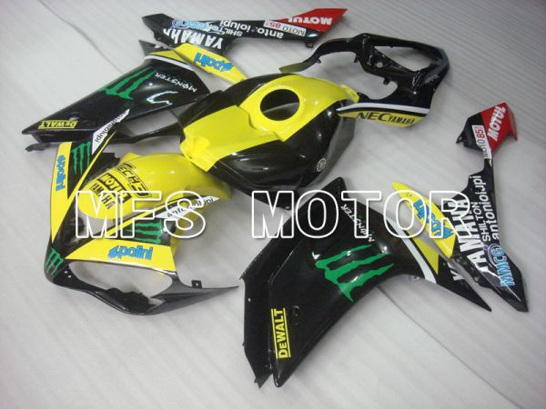 Yamaha YZF-R1 2007-2008 Injection ABS Fairing - Monster - Black Yellow - MFS3465