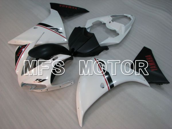 Yamaha YZF-R1 2012-2014 Injection ABS Fairing - Factory Style - Black White - MFS3466