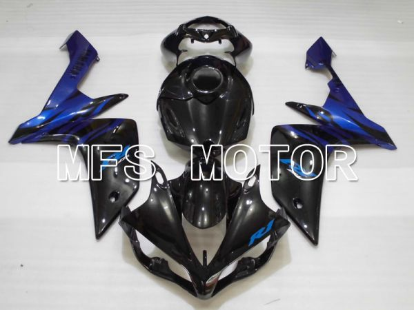 Yamaha YZF-R1 2007-2008 Injection ABS Fairing - Factory Style - Black Blue - MFS3468