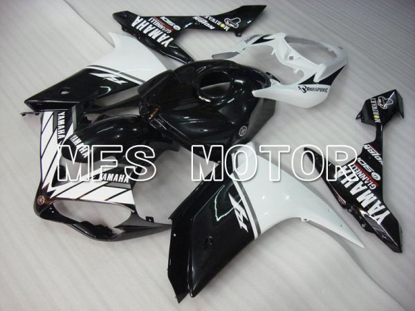 Yamaha YZF-R1 2007-2008 Injection ABS Fairing - Factory Style - Black White - MFS3472