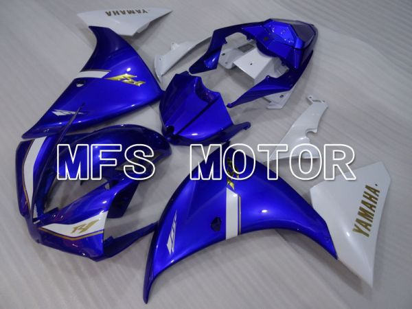 Yamaha YZF-R1 2012-2014 Injection ABS Fairing - Factory Style - White Blue - MFS3473