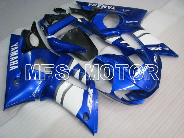 Yamaha YZF-R6 1998-2002 Injection ABS Fairing - Factory Style - Blue White - MFS3477
