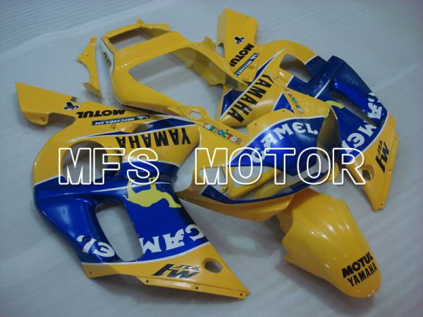 Yamaha YZF-R6 1998-2002 Injection ABS Fairing - Camel - Blue Yellow - MFS3481