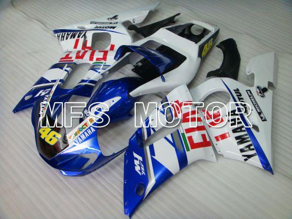 Yamaha YZF-R6 1998-2002 Injection ABS Fairing - FIXI - Blue White - MFS3483