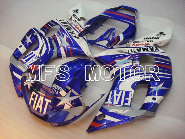 Yamaha YZF-R6 1998-2002 Injection ABS Fairing - FIAT - Blue White - MFS3485