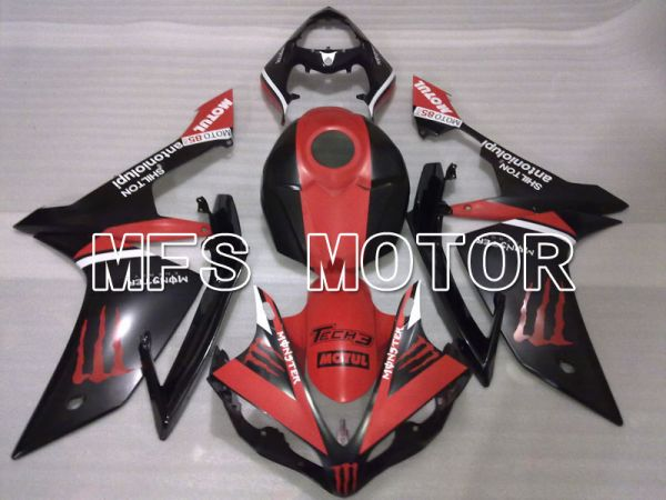 Yamaha YZF-R1 2007-2008 Injection ABS Fairing - Monster - Red Black - MFS3486