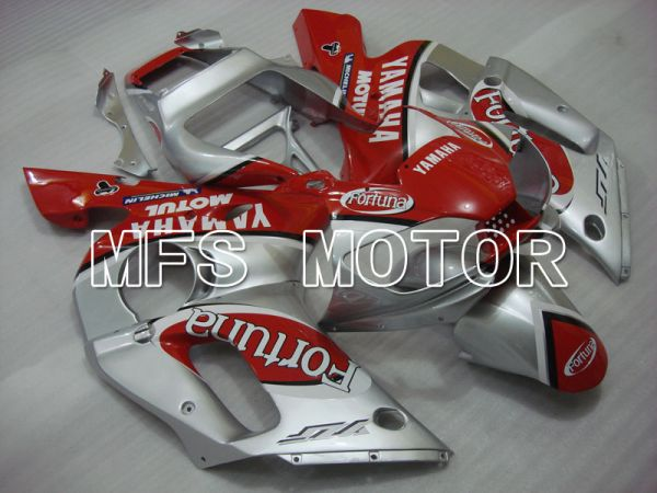 Yamaha YZF-R6 1998-2002 Injection ABS Fairing - Fortuna - Red Silver - MFS3488