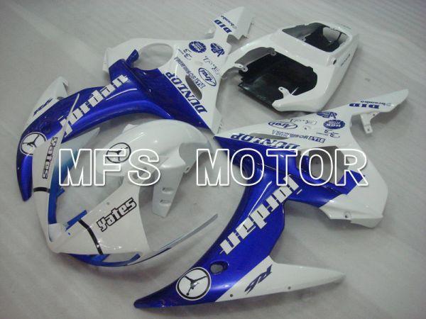 Yamaha YZF-R6 2003-2004 Injection ABS Fairing - Jordan - Blue White - MFS3495