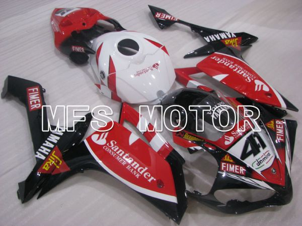 Yamaha YZF-R1 2007-2008 Injection ABS Fairing - Santander - White Red - MFS3500