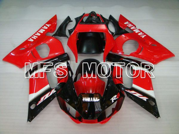 Yamaha YZF-R6 1998-2002 Injection ABS Fairing - Factory Style - Black Red - MFS3505