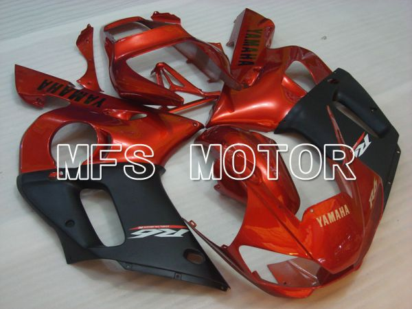 Yamaha YZF-R6 1998-2002 Injection ABS Fairing - Factory Style - Black Red wine color - MFS3507