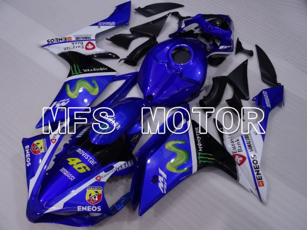 Yamaha YZF-R1 2007-2008 Injection ABS Fairing - Monster - Blue - MFS3510