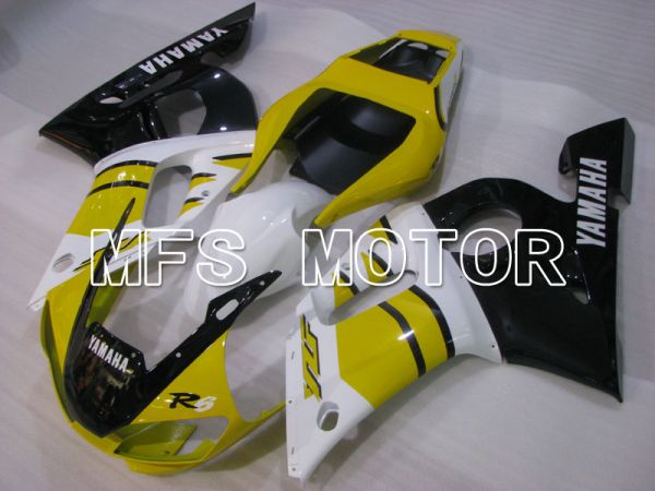 Yamaha YZF-R6 1998-2002 Injection ABS Fairing - Factory Style - Black White Yellow - MFS3511