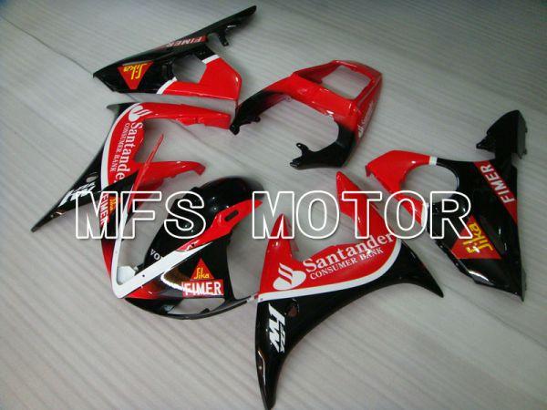 Yamaha YZF-R6 2003-2004 Injection ABS Fairing - Santander - Red Black - MFS3522