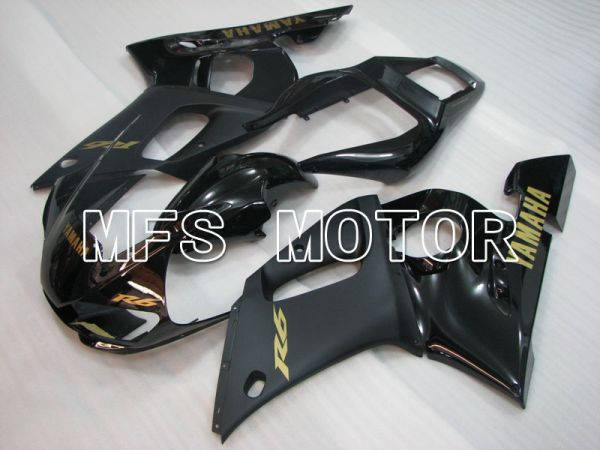 Yamaha YZF-R6 1998-2002 Injection ABS Fairing - Factory Style - Black Matte - MFS3531