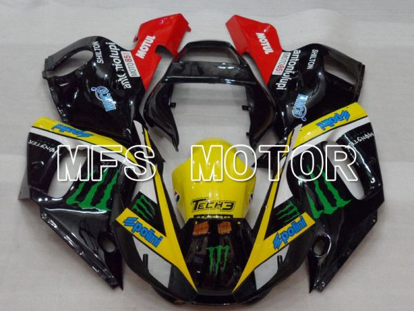 Yamaha YZF-R6 1998-2002 Injection ABS Fairing - Monster - Black Yellow - MFS3538