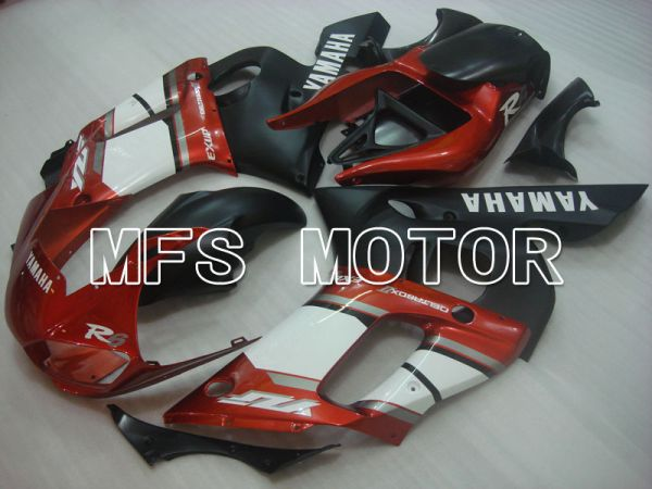 Yamaha YZF-R6 1998-2002 Injection ABS Fairing - Factory Style - Black Red White - MFS3542