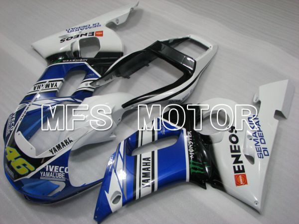Yamaha YZF-R6 1998-2002 Injection ABS Fairing - Monster - Blue White - MFS3547