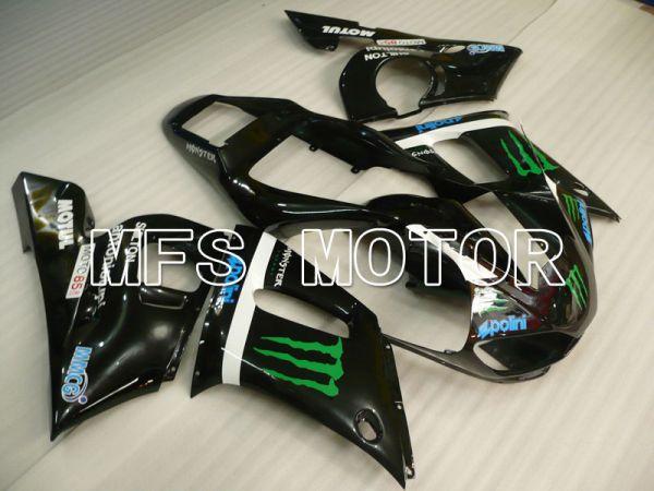 Yamaha YZF-R6 1998-2002 Injection ABS Fairing - Monster - Black - MFS3564