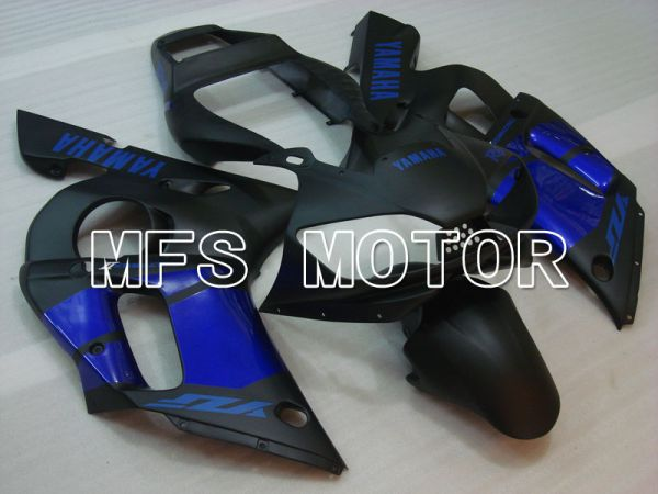 Yamaha YZF-R6 1998-2002 Injection ABS Fairing - Factory Style - Black Blue Matte - MFS3568