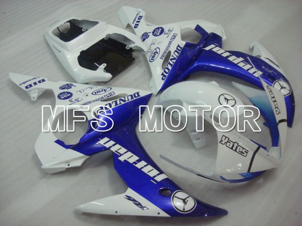 Yamaha YZF-R6 2005 Injection ABS Fairing - Jordan - Blue White - MFS3608