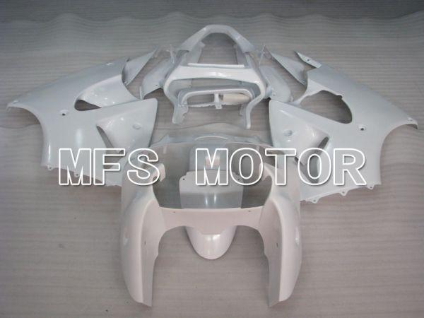 Kawasaki NINJA ZX6R 2000-2002 Injection ABS Fairing - Factory Style - White - MFS3615