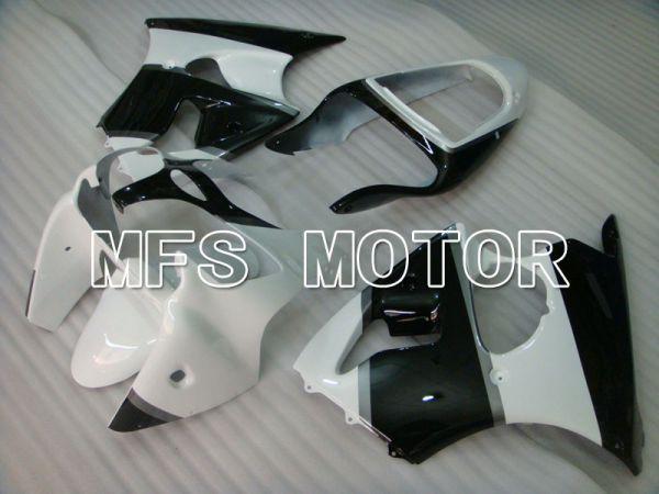 Kawasaki NINJA ZX6R 2000-2002 Injection ABS Fairing - Factory Style - Black White - MFS3626