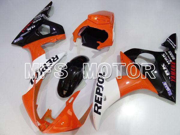 Yamaha YZF-R6 2003-2004 Injection ABS Fairing - Repsol - Orange Black - MFS3632