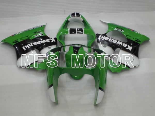 Kawasaki NINJA ZX6R 2000-2002 Injection ABS Fairing - Factory Style - Black Green White - MFS3648