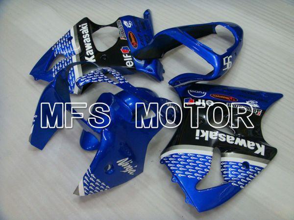 Kawasaki NINJA ZX6R 2000-2002 Injection ABS Fairing - Factory Style - Black Blue - MFS3650
