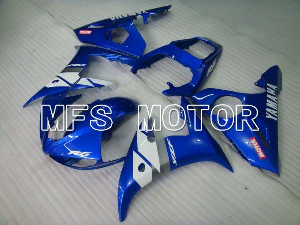 Yamaha YZF-R6 2005 Injection ABS Fairing - MOTUL - Blue White - MFS3690